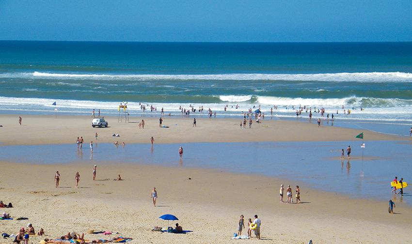 Hourtin Plage paradis de la plage et l'océan