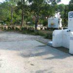Borne pour camping car à Hourtin Port