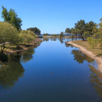 Hourtin port offre des paysages naturels magnifiques