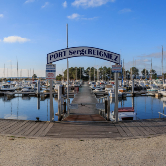 Le port de plaisance d'Hourtin