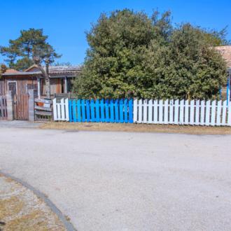 Jolies maisons colorées à Piqueyrot